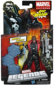 Marvel Legends Blade the Vampire Hunter Variant Running Change Figure Packaged