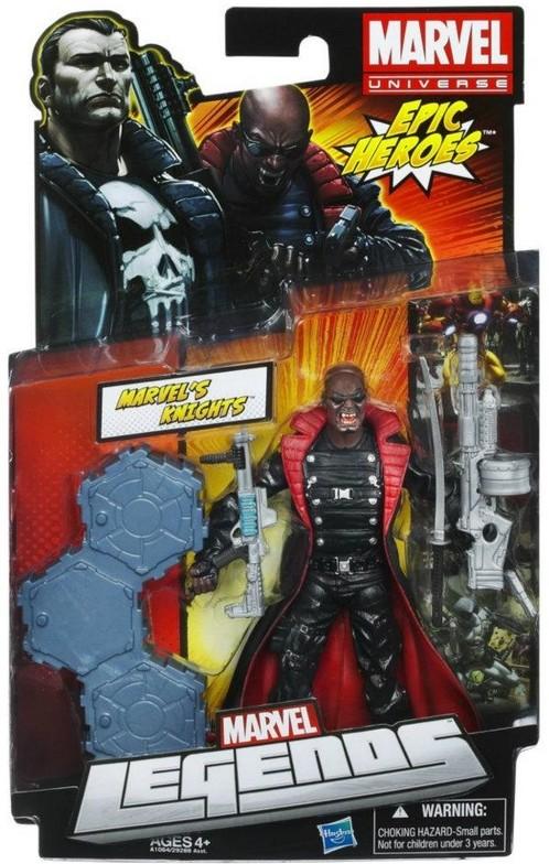 Marvel Legends Blade the Vampire Hunter Variant Running Change Figure Packaged