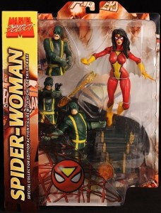 Marvel Select Spider-Woman Figure Packaged