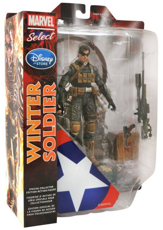Marvel Select Winter Soldier Exclusive Figure Packaged