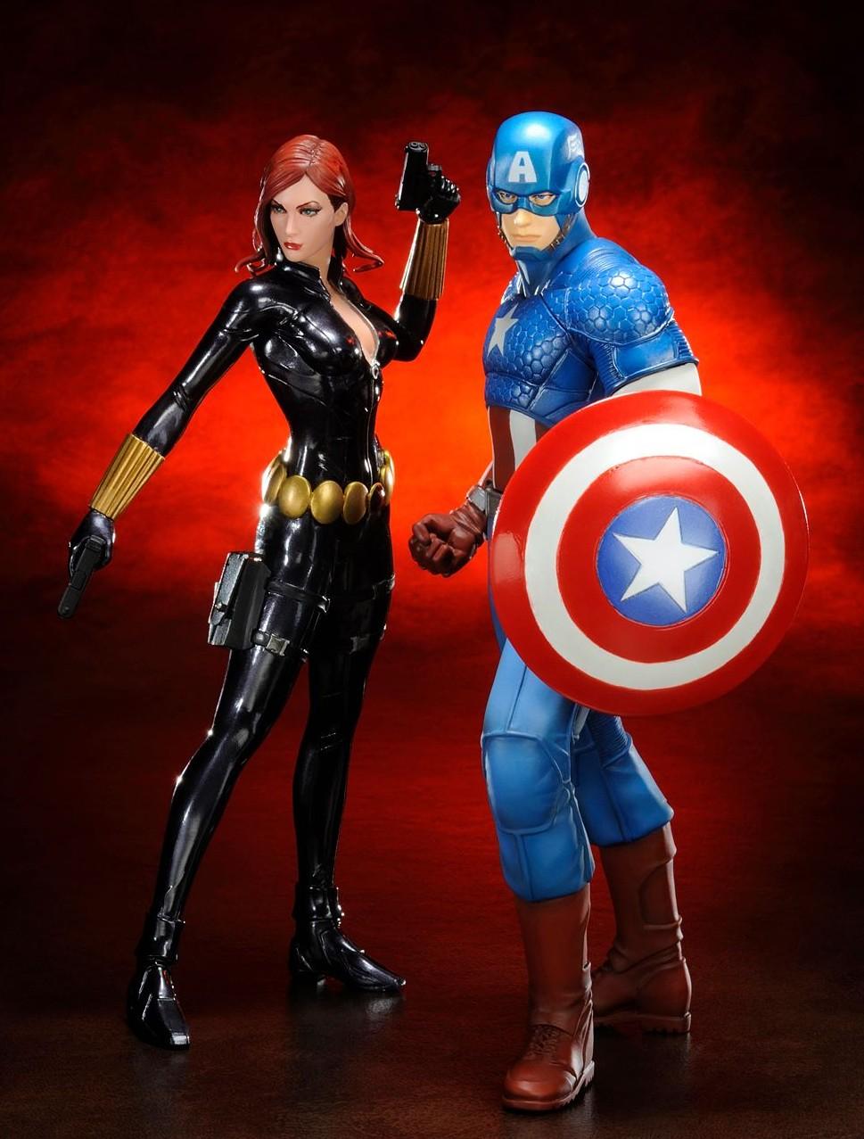 2014 Kotobukiya Avengers Captain America Marvel NOW ArtFX+ Statue