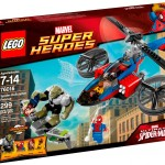 LEGO Marvel 2014 Spider-Helicopter Rescue 76016 Photos Preview