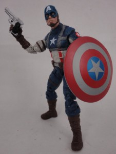 2014 Marvel Legends Captain America Infinite Series WWII Captain America
