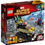 2014 LEGO Marvel Captain America vs. Hydra 76017 Set Photos Preview