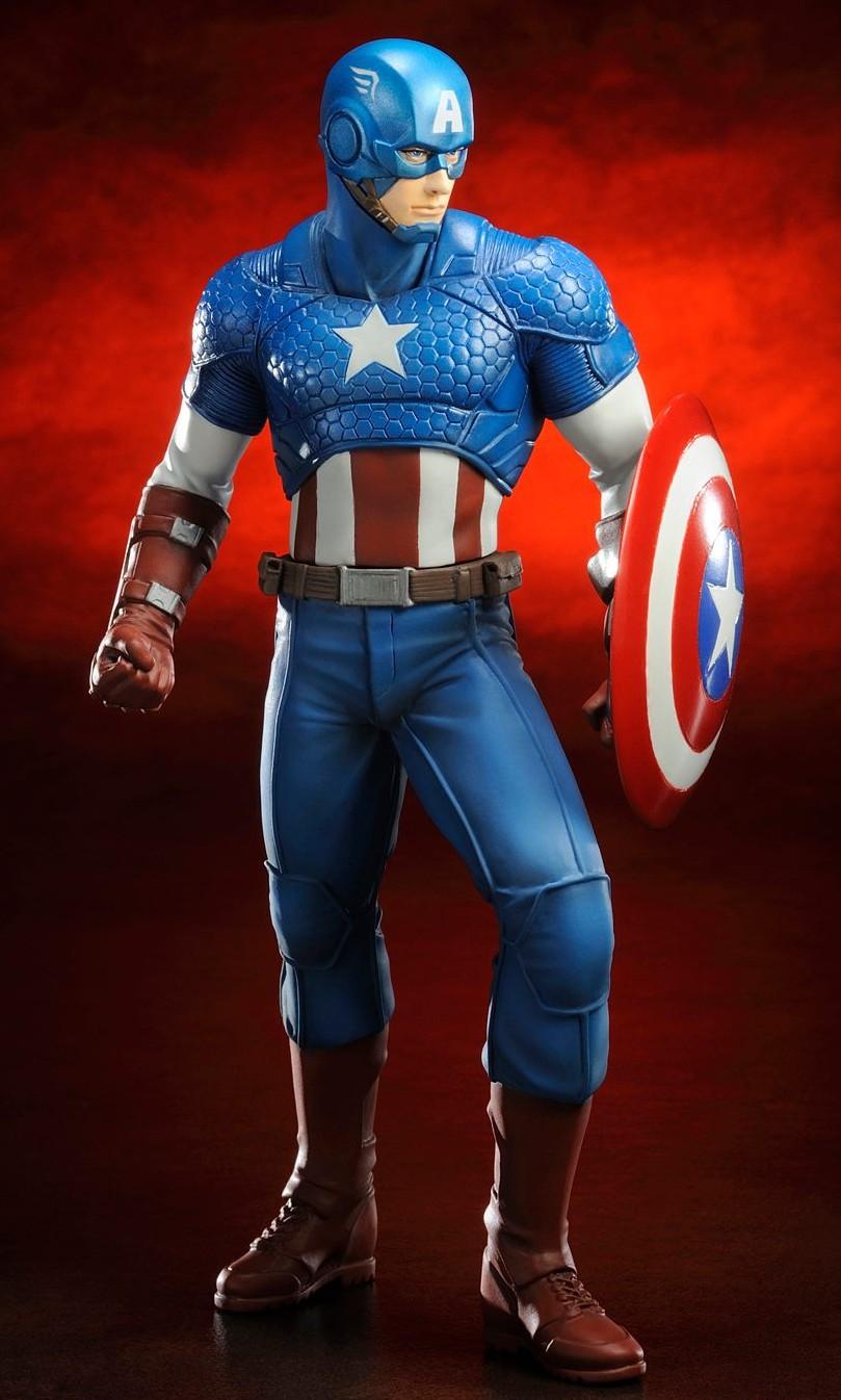 Captain America Kotobukiya Marvel NOW Avengers Statue ARTFX+ 2014