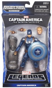Captain America The Winter Soldier Marvel Legends Captain America Figure Packaged