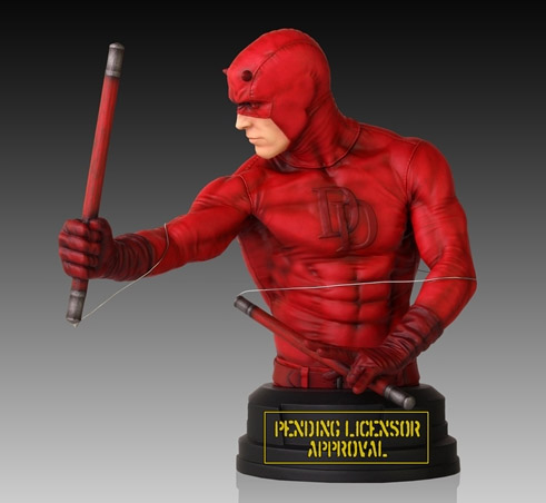 Exclusive Daredevil Bust Side Gentle Giant Premier Guild 2014
