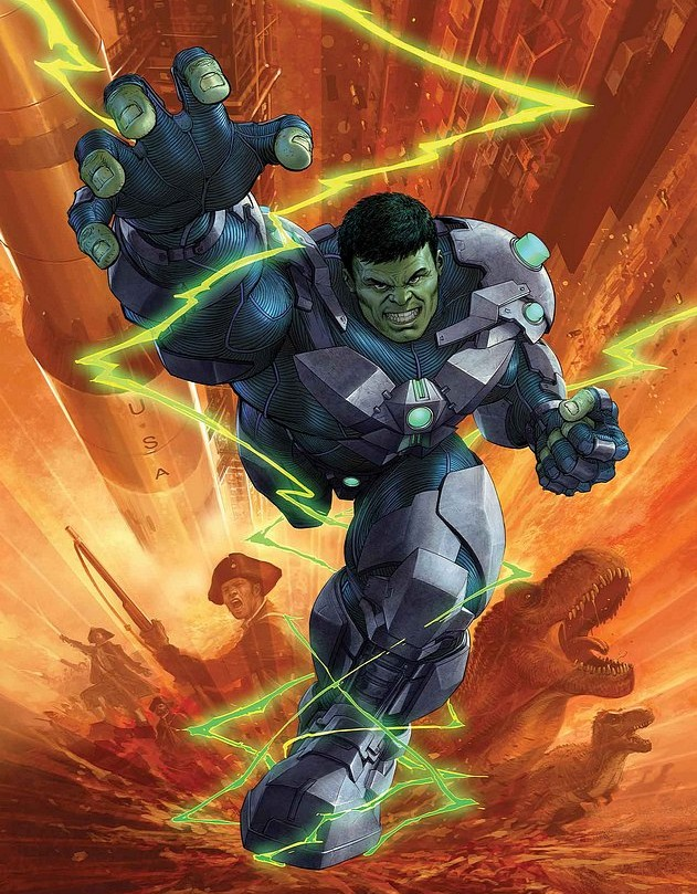 Indestructible Hulk Marvel Now Comic Book 2013