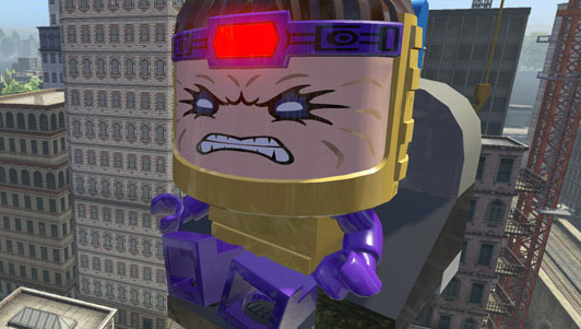 LEGO MODOK Screenshot from LEGO Marvel Video Game