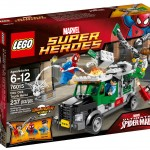 LEGO Marvel 2014 Doc Ock's Truck Heist 76015 Set Photos Preview