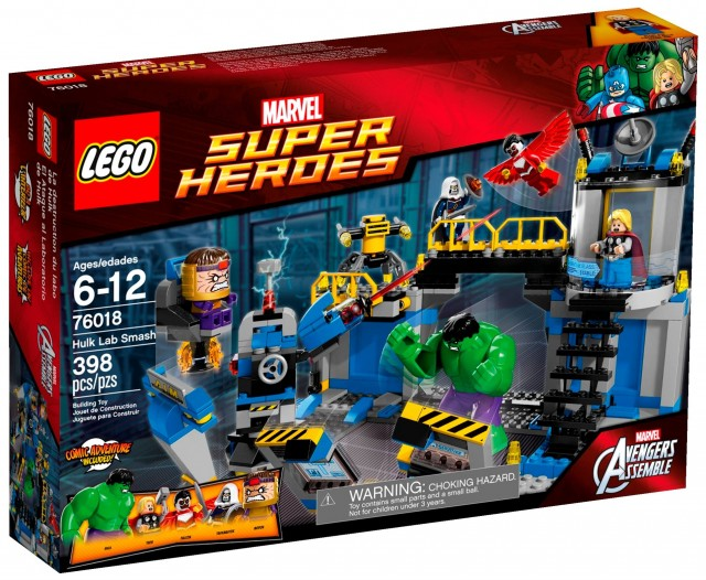 LEGO Marvel 2014 Hulk Lab Smash 76018 Box