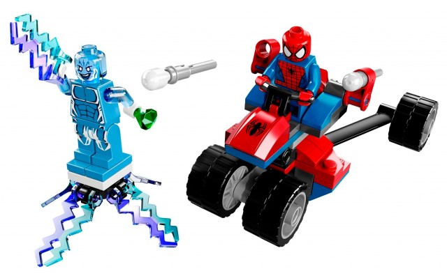 LEGO Marvel 2014 Spider-Trike vs. Electro 76014 Set