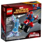 LEGO Marvel 2014 Spider-Trike vs. Electro Set Photos & Preview