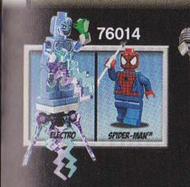 2014 LEGO Marvel Spider-Trike vs Electro 76014 Set