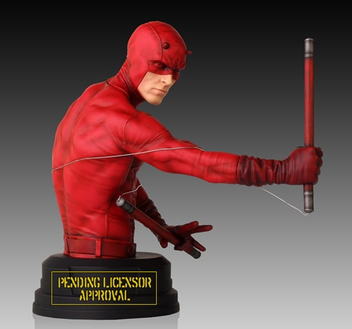 Marvel Daredevil Mini Bust Exclusive Gentle Giant Q4 2014