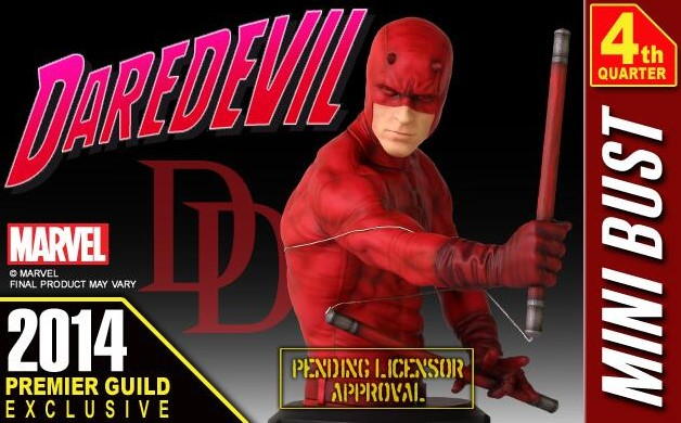 Marvel Gentle Giant Daredevil Mini Bust Exclusive PGM 2014