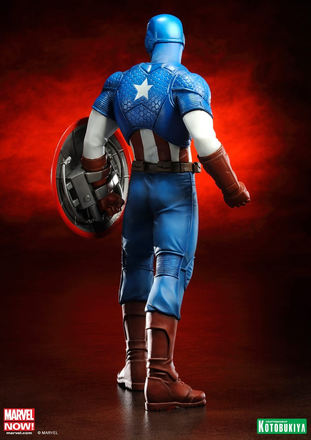 Marvel Kotobukiya Captain America Avengers NOW ArtFX+ Figure Statue