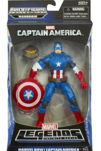 Marvel Legends Infinite Series Marvel NOW Captain America Figure Packaged