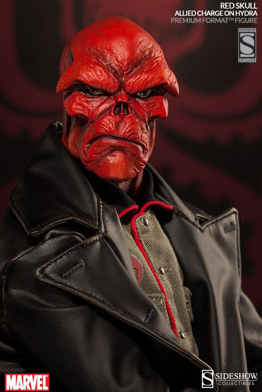 Sideshow Exclusive Red Skull Premium Format Figure Extra Scowling Head