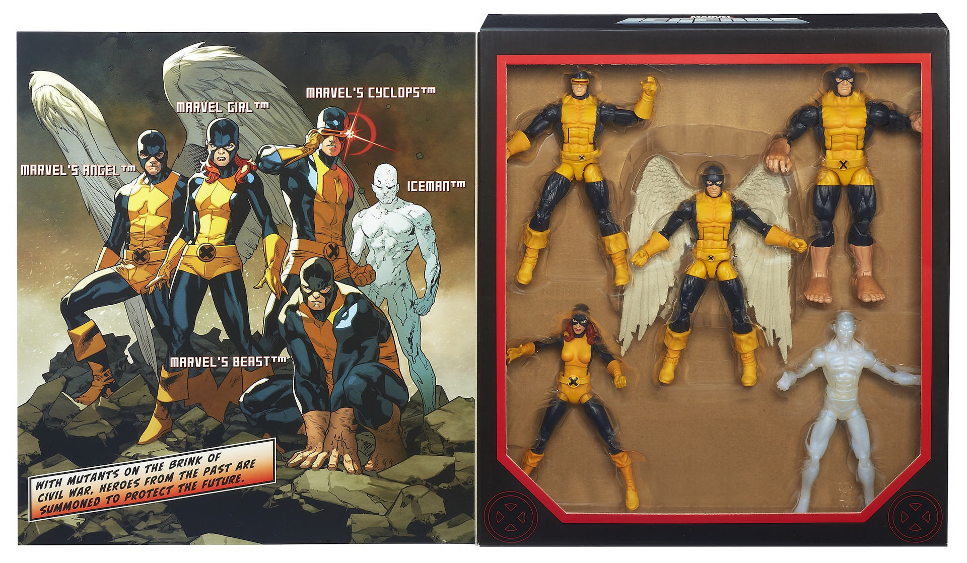 All New 2014 Toys : Marvel legends all new men figures box set exclusive