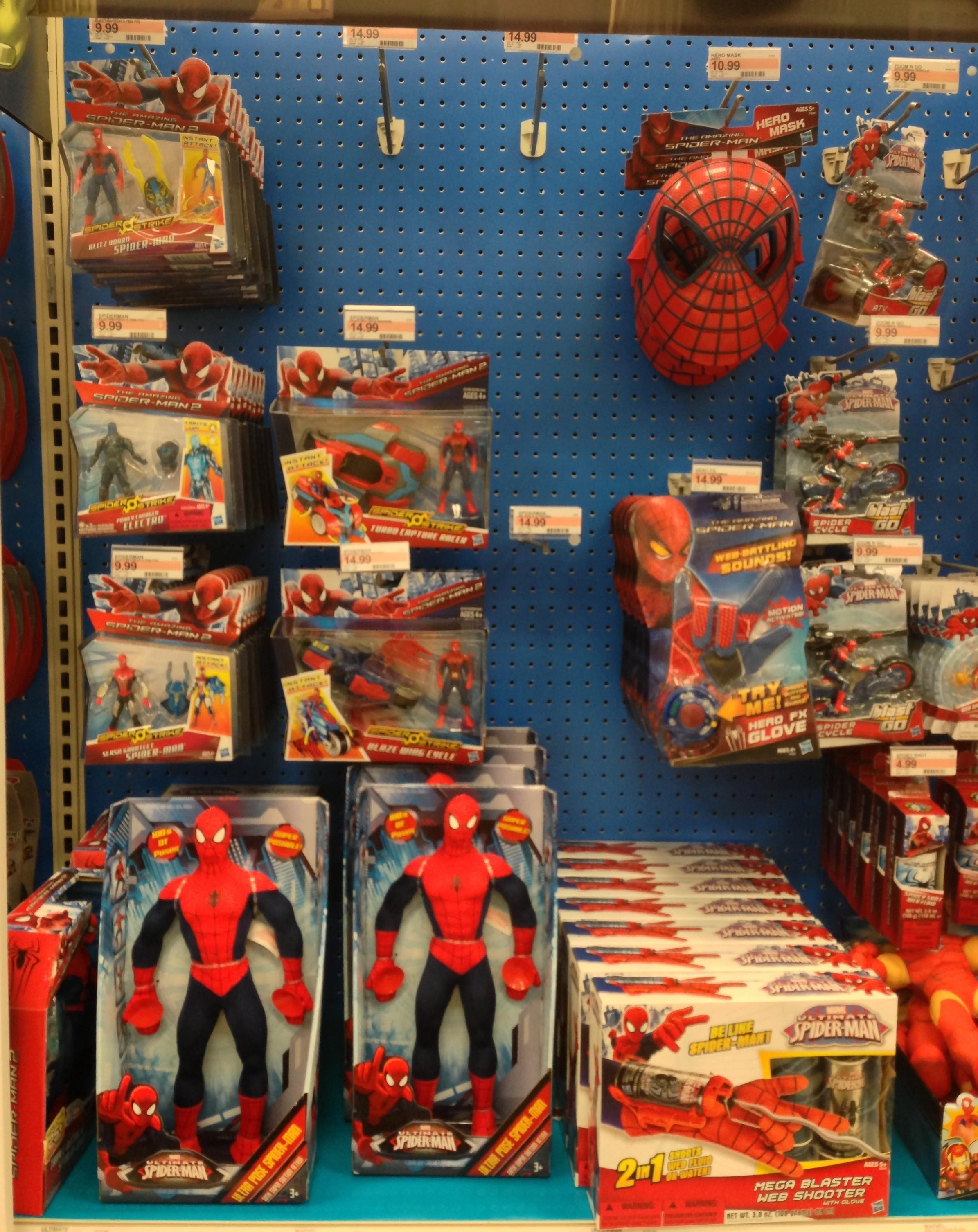 New Spider Man 2 Toys : Hasbro amazing spider man quot figures released photos