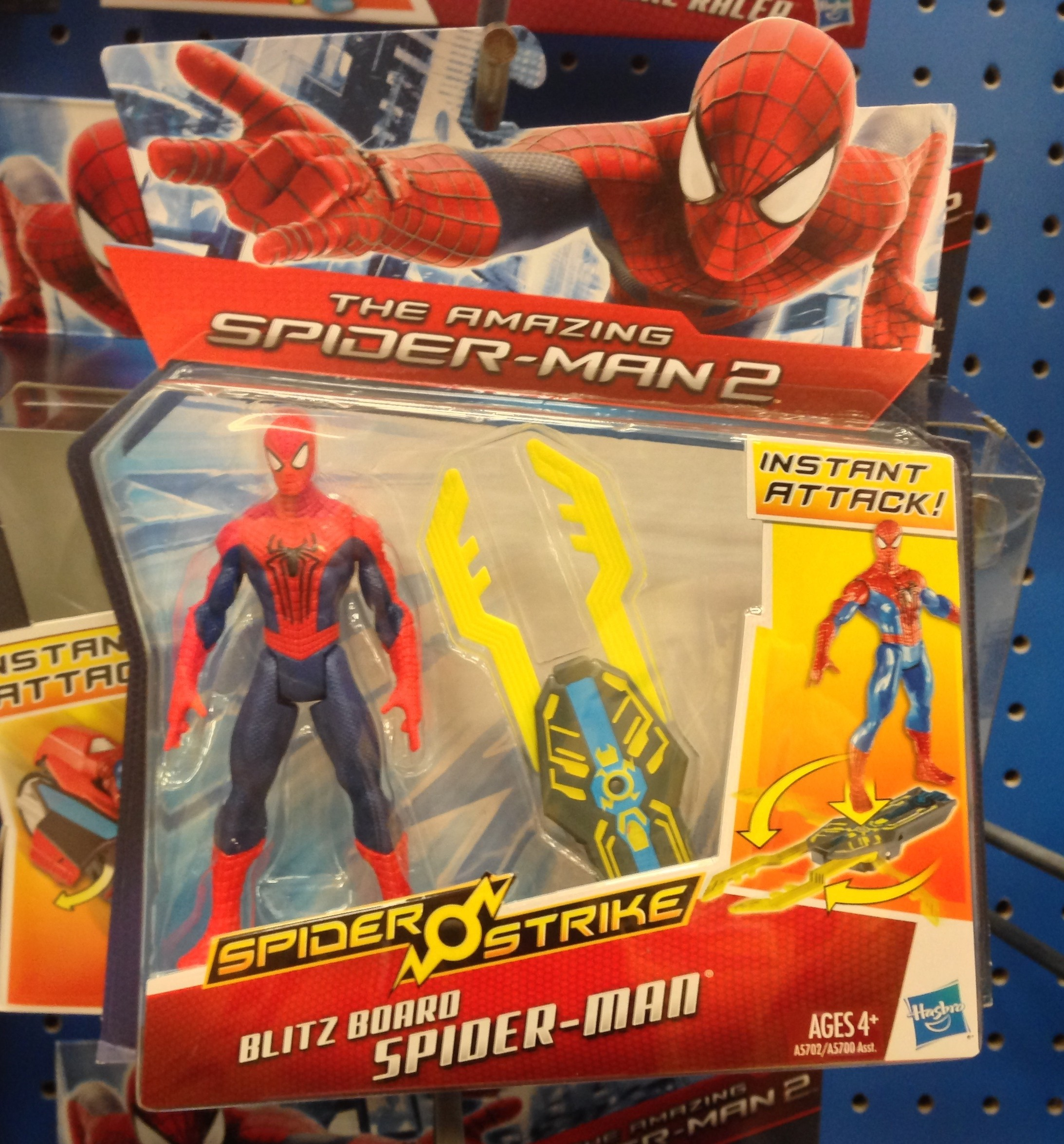 New! Hasbro Amazing Spider-Man 2 Slash Gauntlet Spider-Man action figure