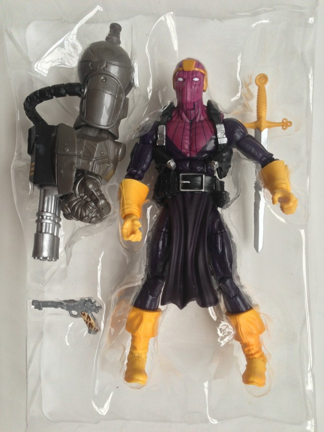 Marvel Legends Baron Zemo Figure with Mandroid Build-A-Figure Arm