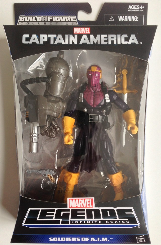 Captain America Marvel Legends Infinite Series Baron Zemo Packaged