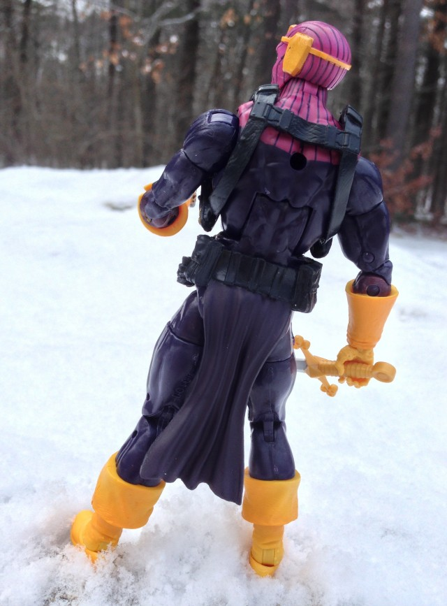 "6"" Marvel Legends 2013 Baron Zemo Figure Back"