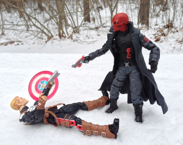 Marvel Legends Captain America vs. Red Skull 2014 Figures