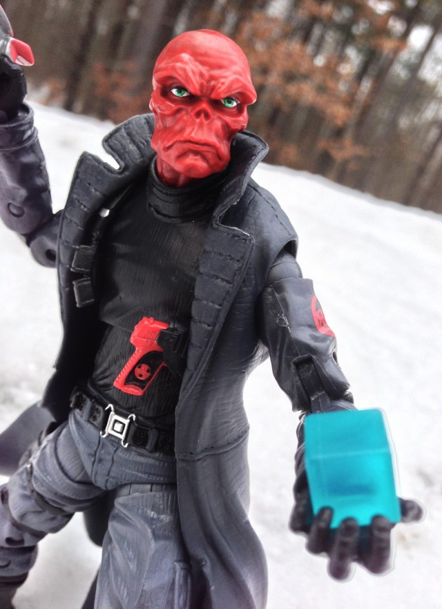 Marvel Legends Infinite Series Red Skull with Cosmic Cube
