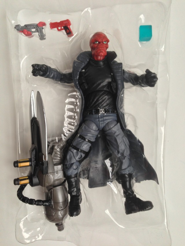 Captain America Marvel Legends Infinite Series Red Skull Figure and Accessories