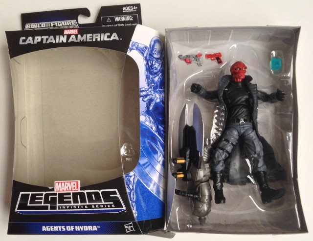 Marvel Legends Red Skull Infinite Series Packaging