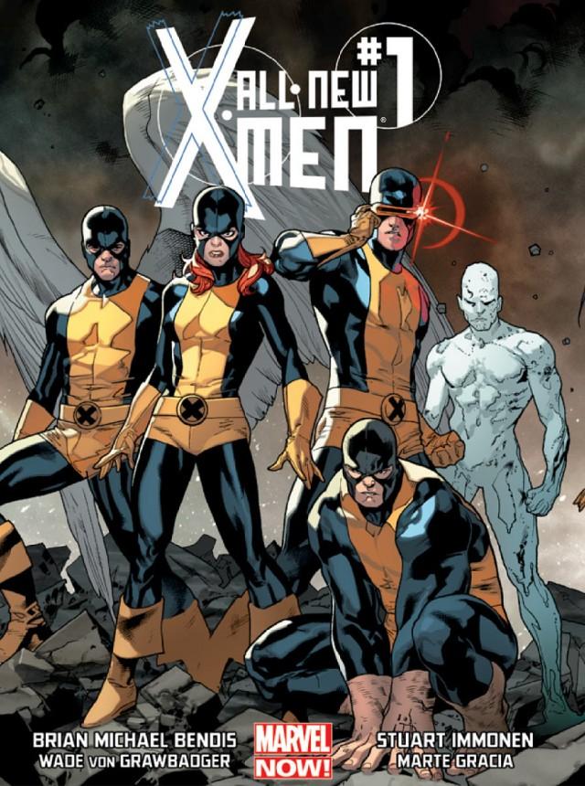 All-New X-Men #1 Cover Marvel NOW 2013