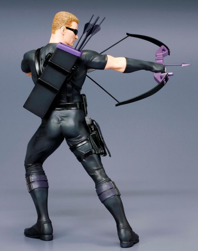 Back of Kotobukiya Artfx+ Marvel Now Hawkeye Figure