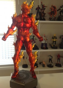 Bowen Designs The Human Torch Statue 2014