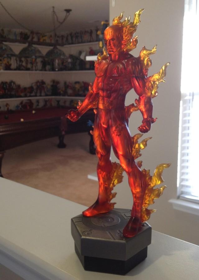 Bowen Human Torch Statue Johnny Storm Variant 2014