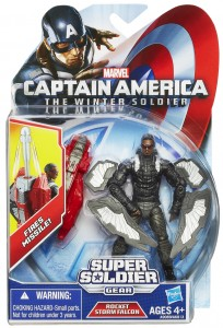 Captain America Rocket Storm Falcon Movie Action Figure Packaged