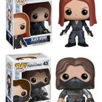 Funko Captain America Winter Soldier POP Vinyls Figure Photos!