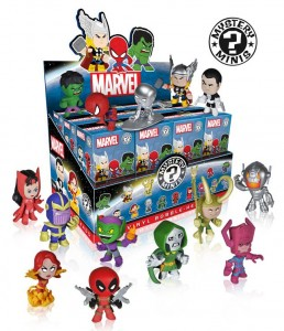 Funko Marvel Mystery Minis Case of Bobble Head Figures Series 1