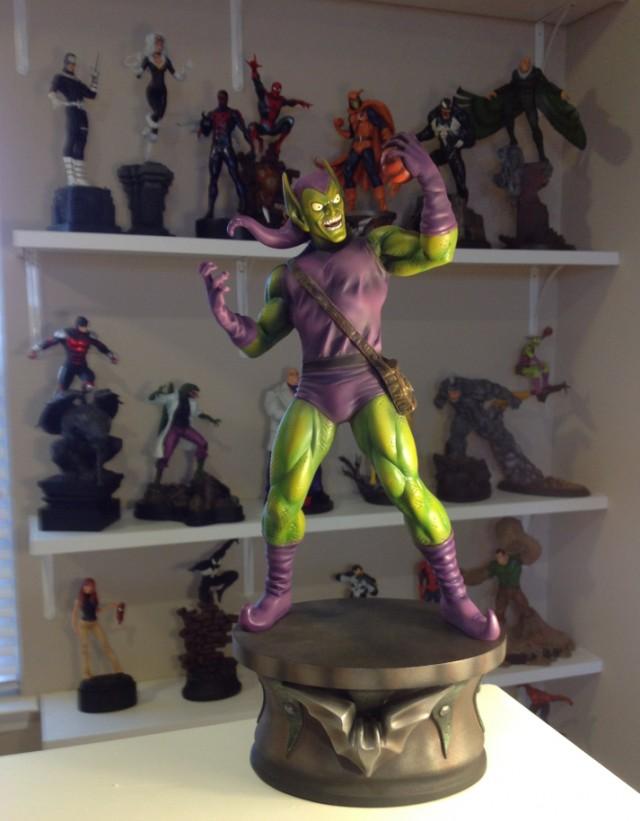 Green Goblin Museum Statue Bowen Designs 2014 Kucharek Brothers