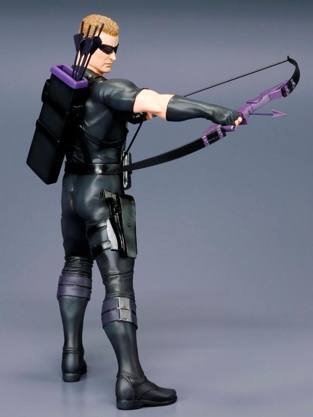 Hawkeye Kotobukiya ArtFX+ Figure Side