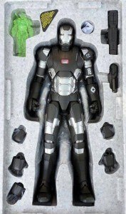 Hot Toys War Machine Mark II in Styrofoam Packaging Tray