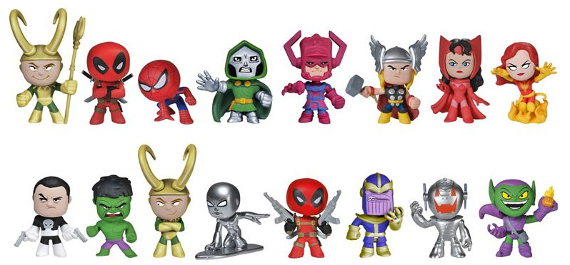 Funko Sdcc 2014 Marvel Mystery Minis Exclusives Revealed