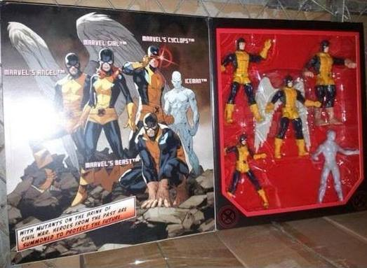 Marvel Legends 2014 Original X-Men SDCC 2014 Exclusives Set