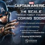 Captain America The Winter Soldier Premium Format Statues!