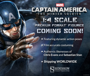 Sideshow Captain America The Winter Soldier Quarter Scale Figures Announcement