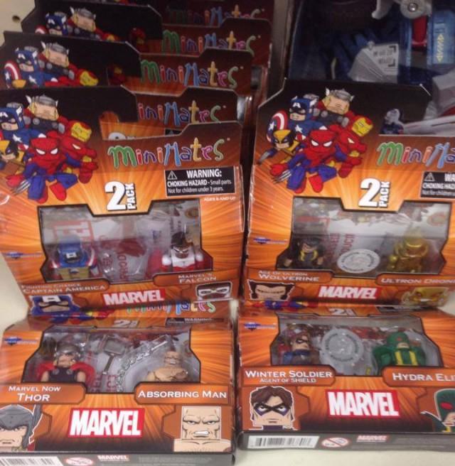 Marvel Toys R Us : Marvel minimates series toys r us released photos