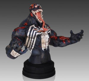 Venom Zombie Mini Bust 2014 Gentle Giant