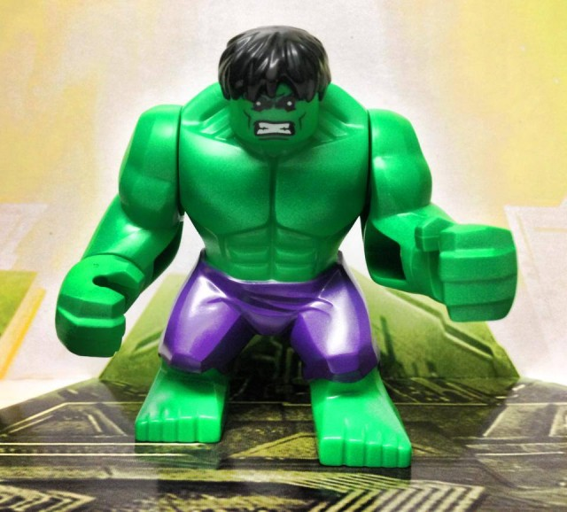 2014 LEGO Marvel Hulk Lab Smash 76018 LEGO Hulk Big Figure